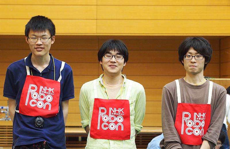 写真左より金森善彦さん、山藤浩明さん、勇正大さん
