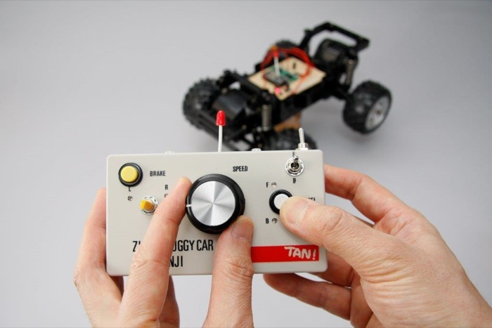 「TWE-Lite DIP」のアナログ入力を使ってモータをPWM(アナログ)コントロール