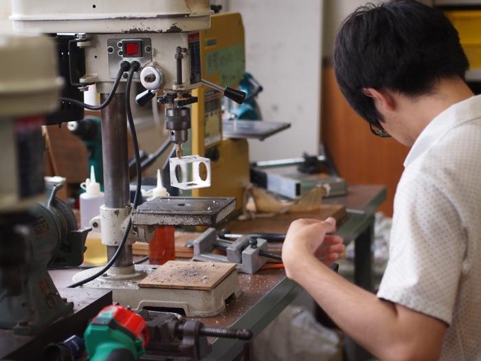 名古屋工業大学「ロボコン工房」の旋盤