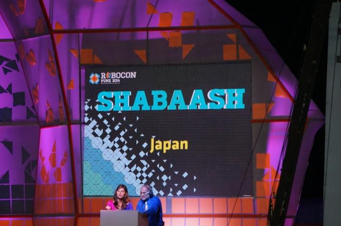 ABUロボコン2014:日本チームSHABAASH