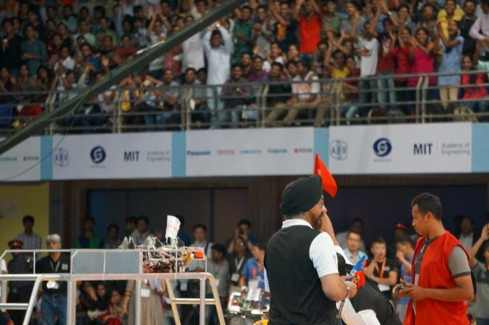 ABUロボコン2014決勝トーナメント:インドネシア