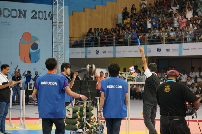 ABUロボコン2014決勝トーナメント:タイ