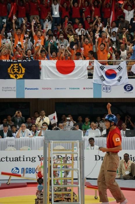 ABUロボコン2014決勝トーナメント:日本