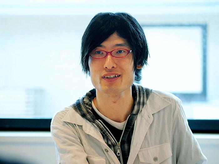 「RAPIRO」の開発者・石渡昌太さん。
