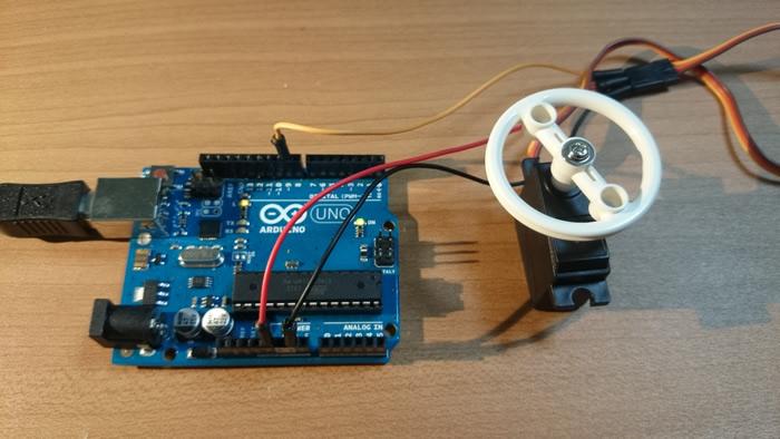 Arduinoでサーボモーターを制御