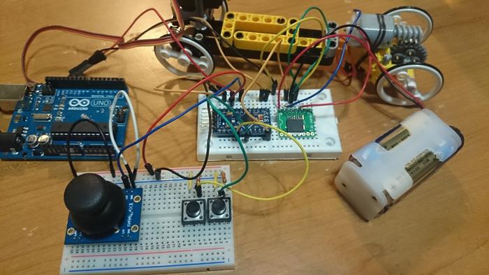 写真8 Arduino UNOからArduino Pro miniに移行が完了