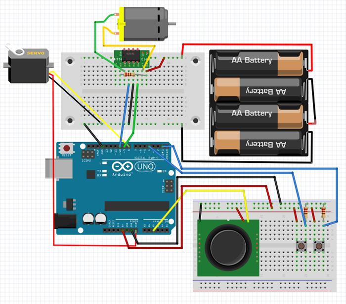 図2 ラジコン回路