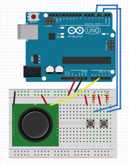 図1 コントローラー部分の回路