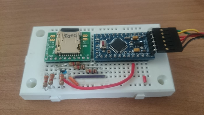 写真4 SD回路