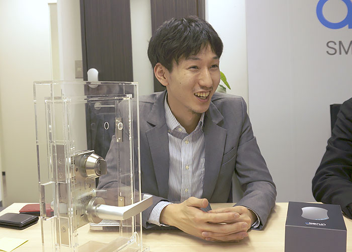 Co-Founder小林 奨さん。IT系出身。