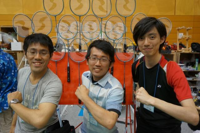 写真左より岩月駿さん、黒須達也さん、吉田雄飛さん