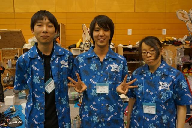 写真左より荻野裕貴さん、木村太郎さん、宮下恵さん