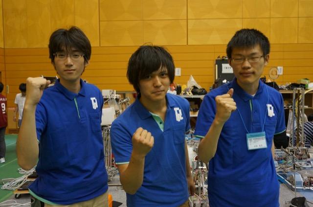 写真左より後藤良介さん、増岡宏哉さん、金森善彦さん