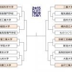 速報:NHK学生ロボコン2015 トーナメント表