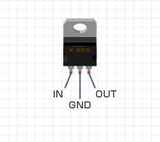 図2.3端子電圧レギュレータ