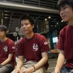 学生ロボコン2015優勝校 早稲田大学。 そのヒミツに迫る!〜チームメンバー編