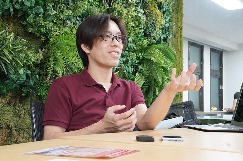 どんな質問にもビシっと答えてくれた山田修平CEO