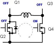 (b) 電流回生時1