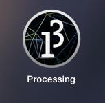 図3 Processingアイコン