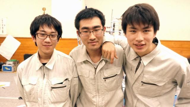 写真左より森田慧さん、中川航さん、笹村樹生さん