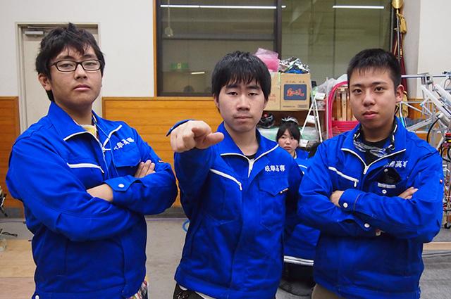写真左より松永成偉人さん、岸田真幸さん、棚瀨貫太さん
