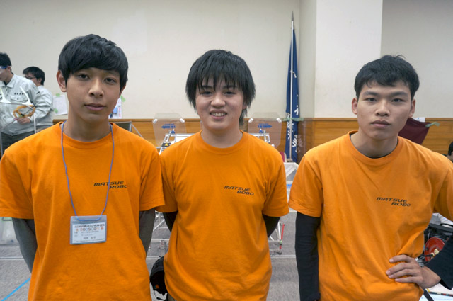 写真左より高宮貴一さん、山根涼太さん、鶴原秋平さん