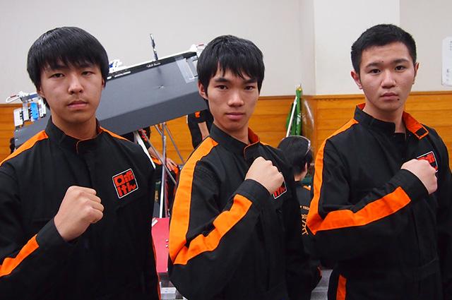 写真左より西川創太さん、木田遼さん、村田一陽さん