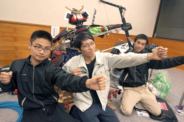 写真左より久米弘祐さん、濱口翔大さん、水野海渡さん