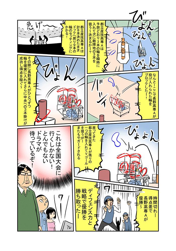 発明王!? ミルノメーカー「全国高等専門学校ロボコン大会前編」