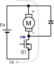 (a) 電圧印加時