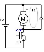 (b) 電流回生時
