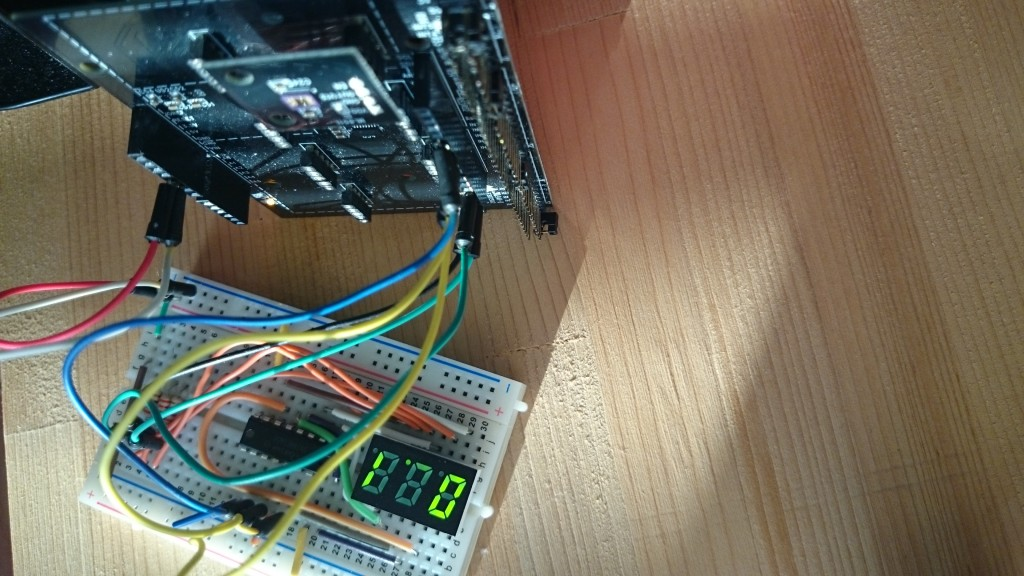 写真5 紫外線計測器の結果