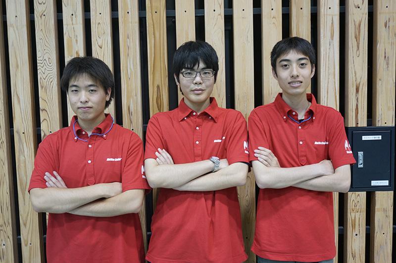 写真左より森田淳悟さん、柴山聖智さん、鈴木雄太さん