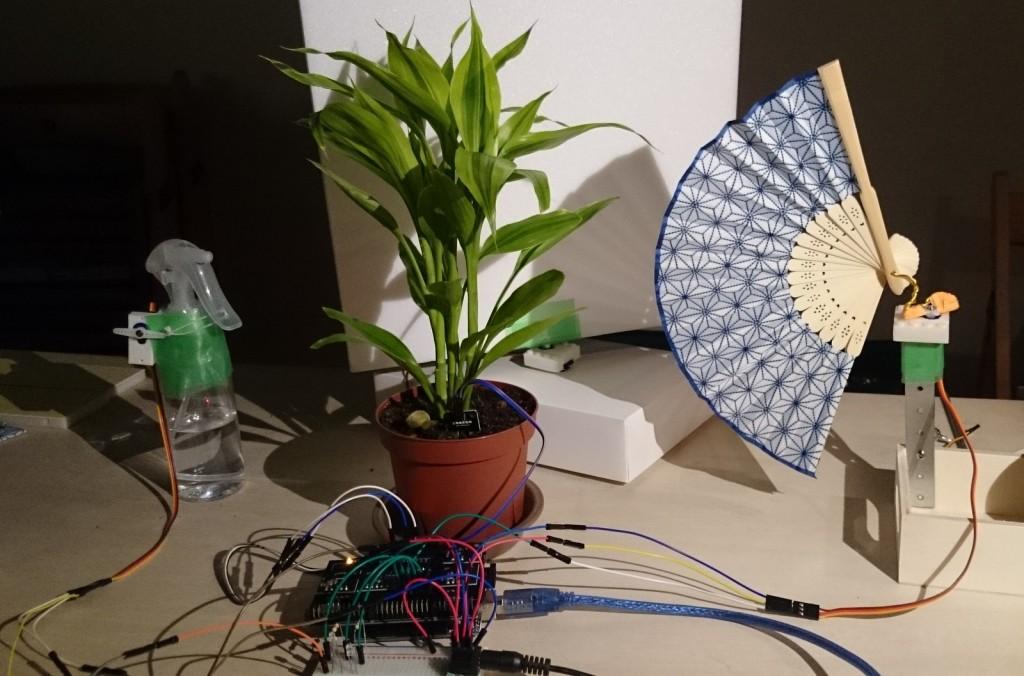 写真5 植物育成デバイス全体像
