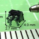 昆虫生体模倣MEMSマイクロボット