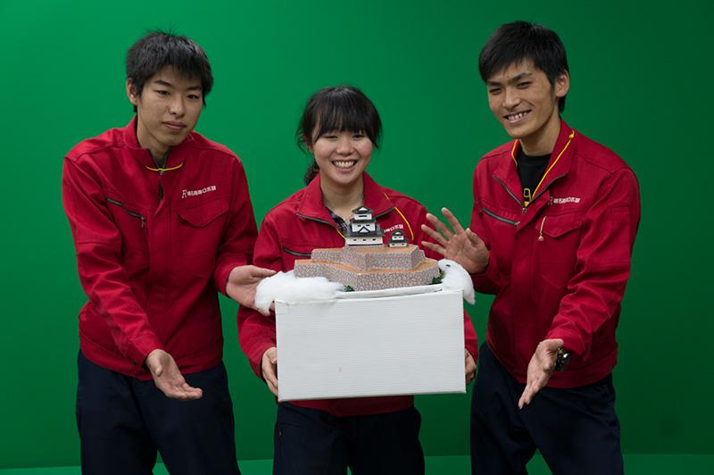 写真左より藤本恭子さん、菊池航平さん、井上晴渡さん