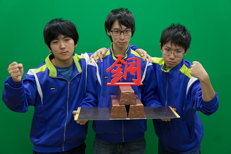 写真左より末光史有人さん、萩田翔さん、澤山倫也さん