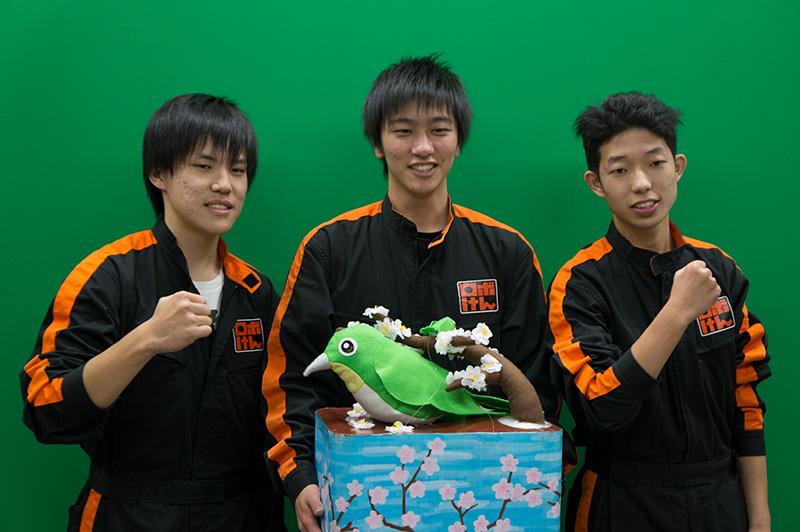 写真左より佐藤恵さん、廣田尚樹さん、池田圭佑さん
