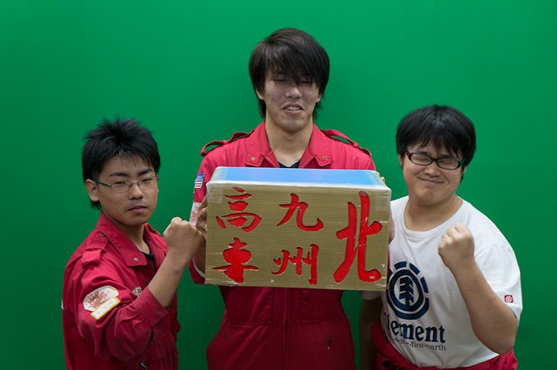 写真左より花守拓樹さん、高辻克海さん、富田川皐記さん