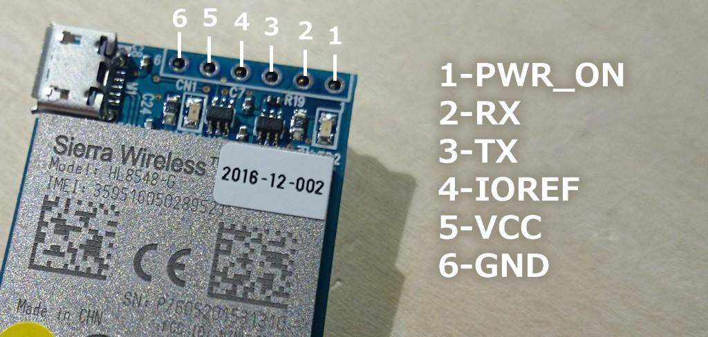 写真4 3GIMのピン配置