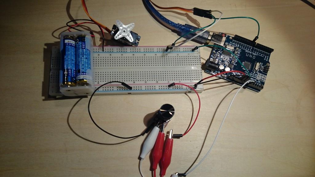 写真4 サーボモーター制御回路