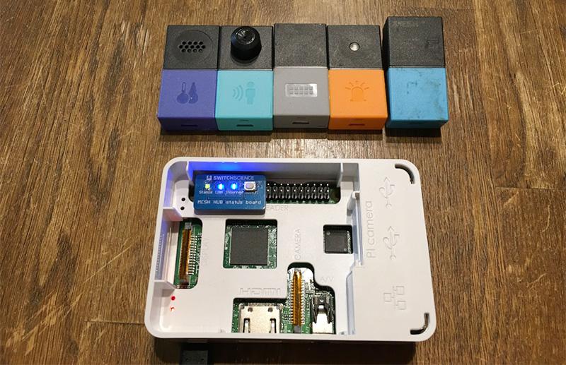 MESH Raspberry Pi Hub