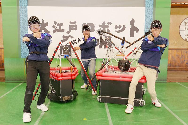 チームメンバー:武田 崇秀さん、横山 颯太さん、伊藤 達也さん