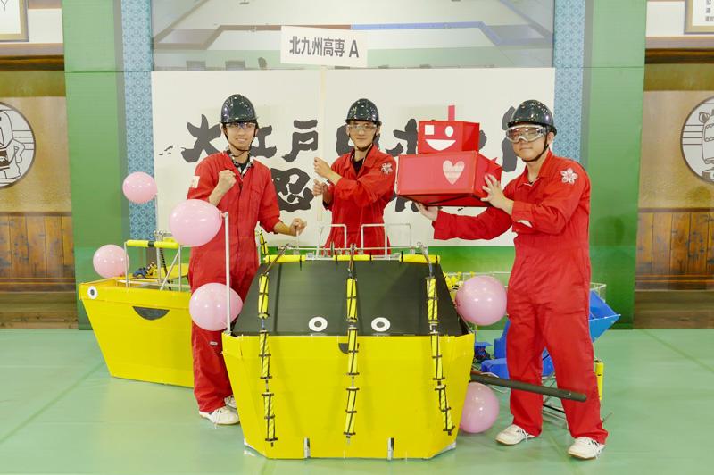 チームメンバー:大江 翼さん、倉満 直樹さん、河上 虎太郎さん