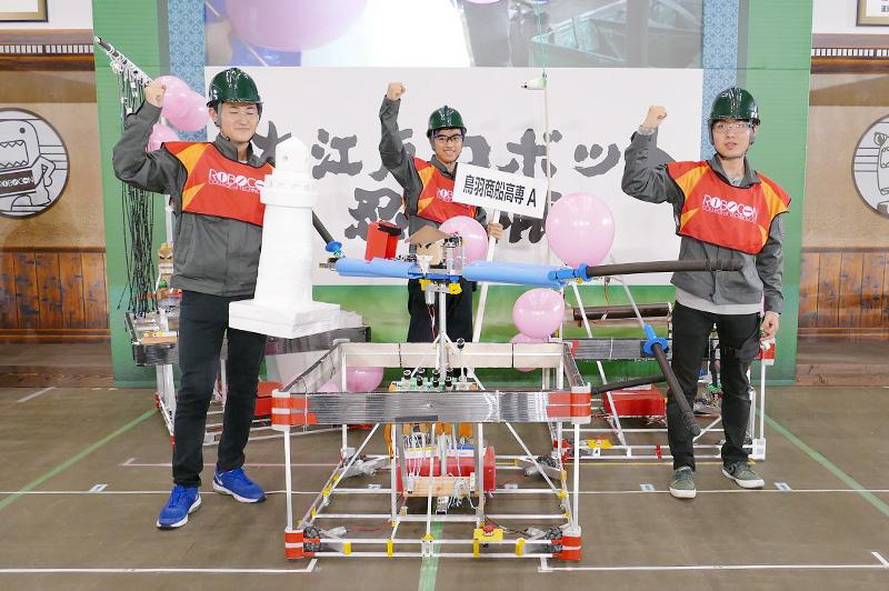 チームメンバー:山本 汰さん、西村 翔瑛さん、石野 嵩登さん