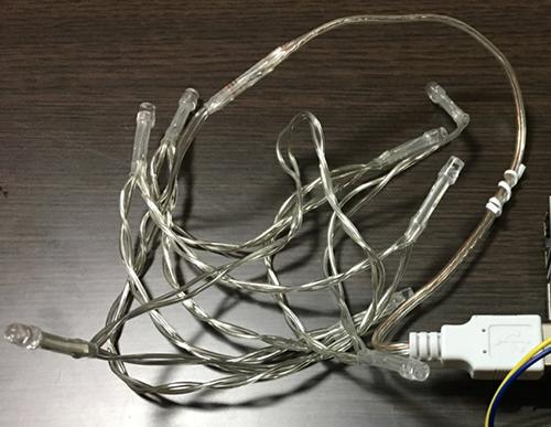 USB付きLED電飾