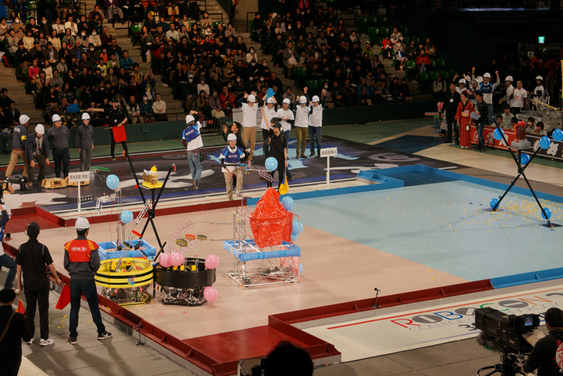 第3試合、熊本高専vs長岡高専A