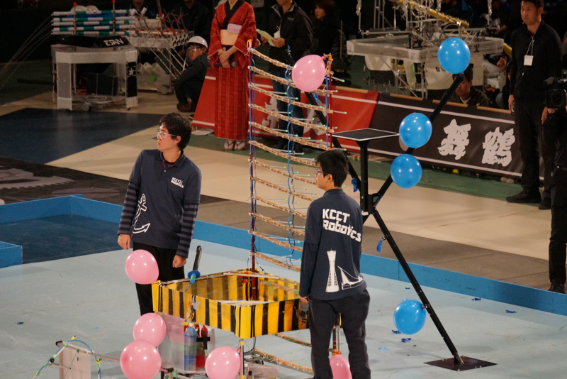 第8試合、神戸高専vs都城高専