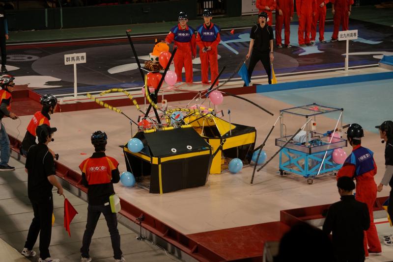 第11試合、群馬高専vs北九州高専