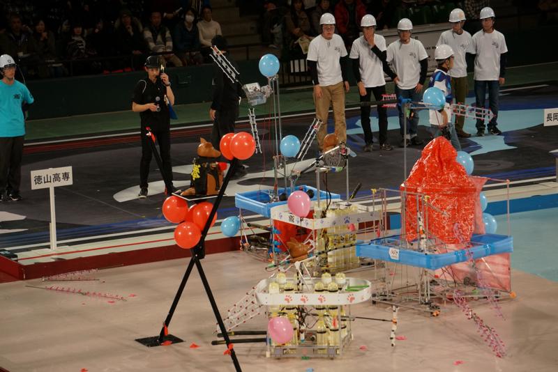 第2試合、徳山高専vs長岡高専A